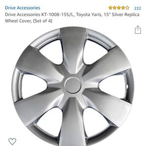 "Tire Hubcaps 15"" Still in box not even opened"